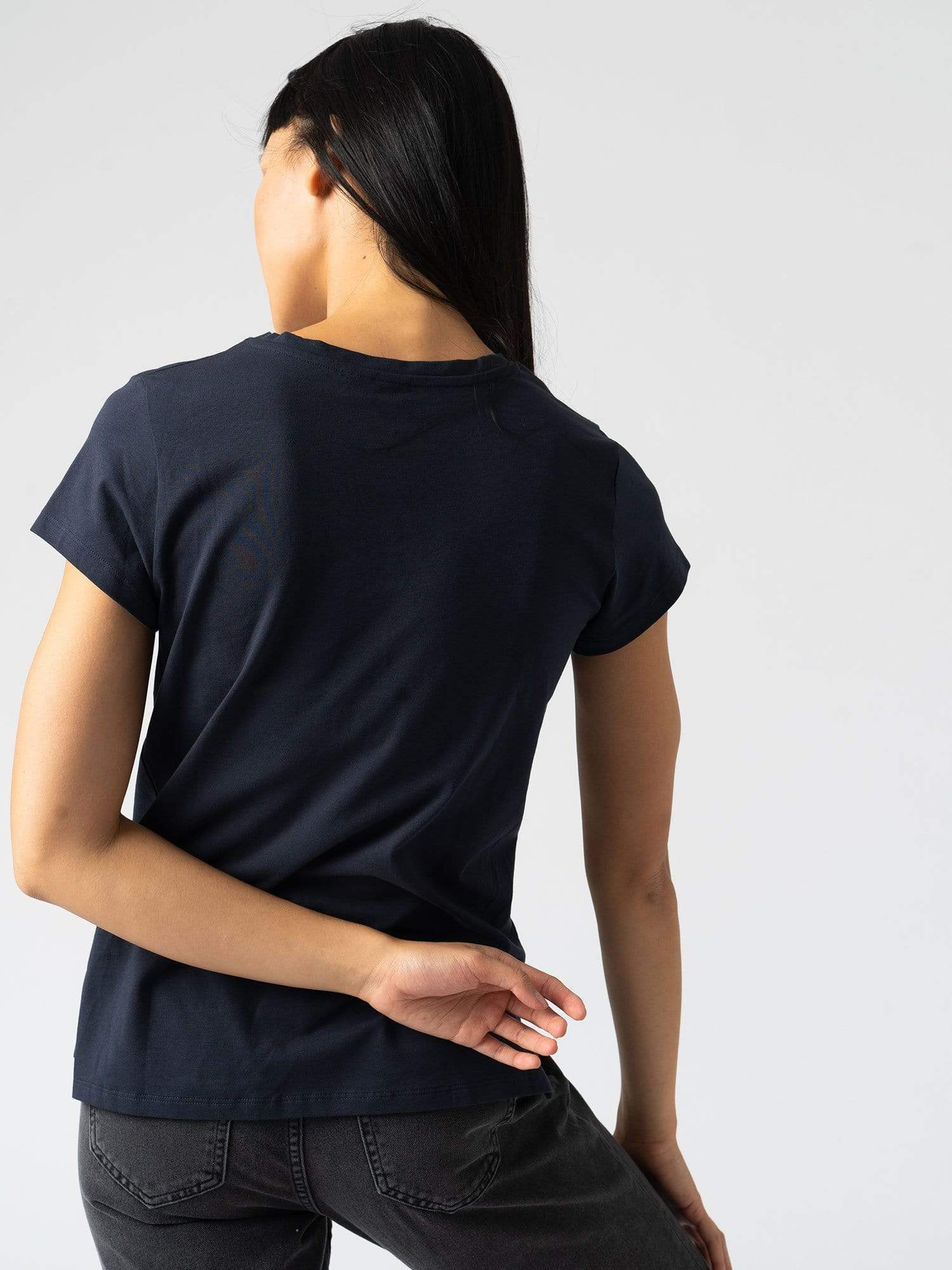 Women's Easy Tee - Navy | Zaggora World