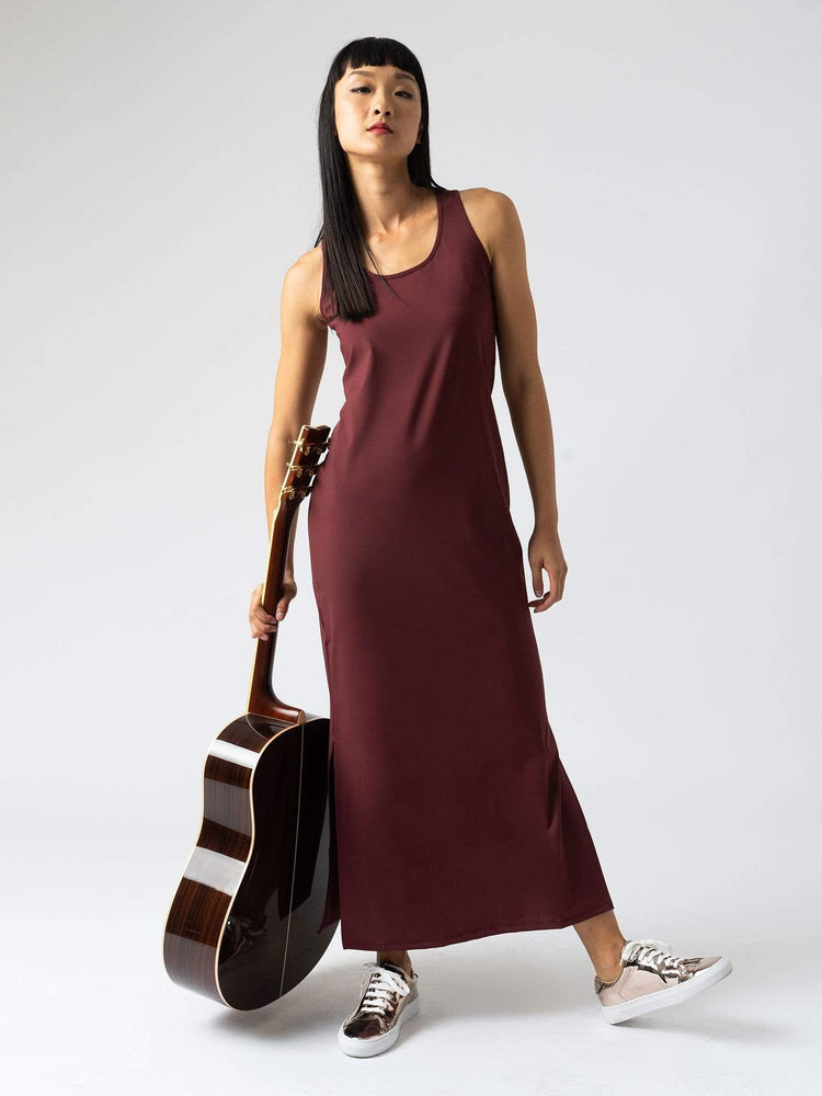 Women's 24-7 Maxi Dress - Burgundy |  World