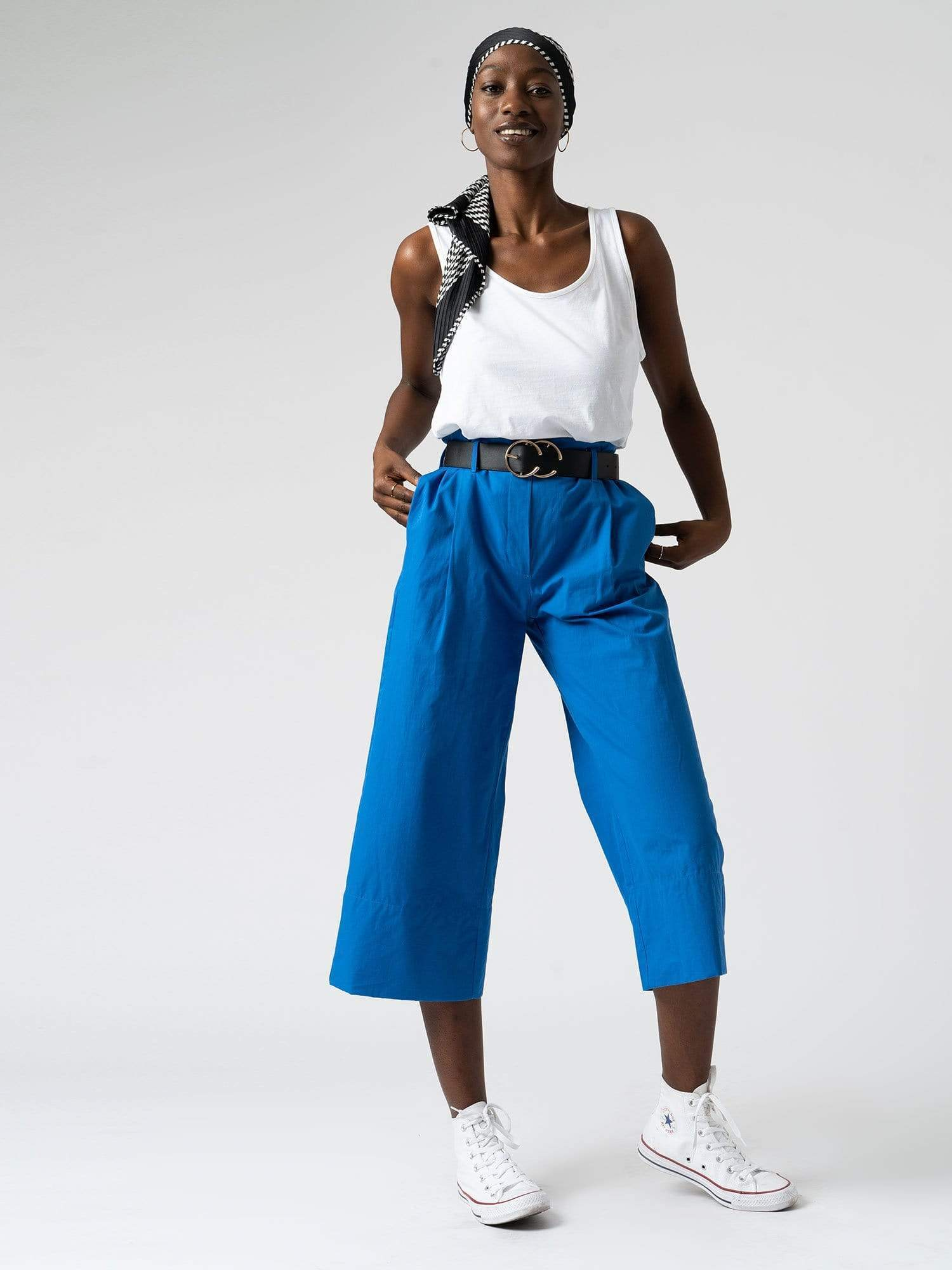 Shoreditch Culotte - Blue