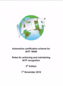 IATF 16949 Rules for Achieving IATF Recognition – 5th Edition