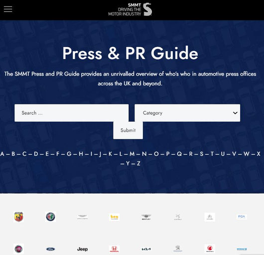 The Digital UK Motor Industry Press and PR Guide 2021