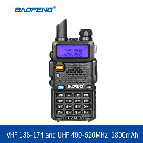 BAOUFENG UV5R Dual Band Handheld Transceivers