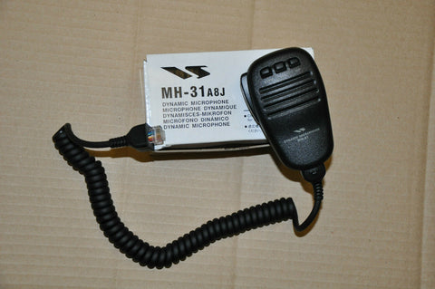 BRAND NEW GENUINE YAESU MH-31A8J REPLACEMENT MICROPHONE