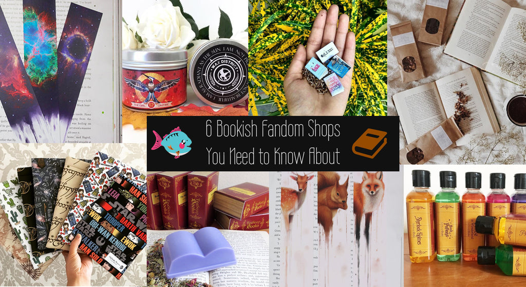 6 Bookish Fandom Shops You Need to Know About [Pictures]