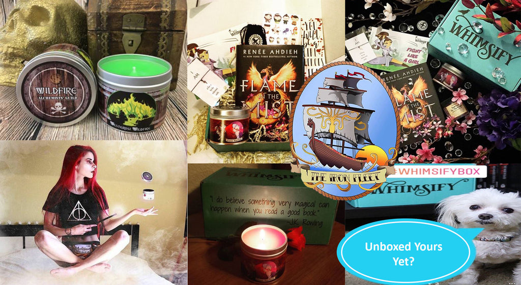 A Game of Candles, Whimsify Box & Instagram Friends [May Update]