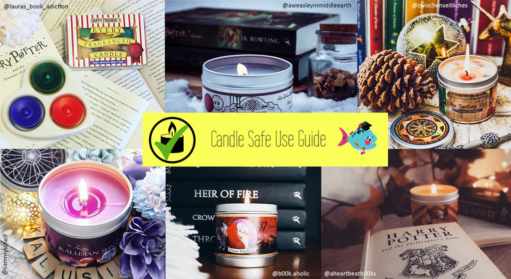 Top Tips for Burning Candles Safely: A Safe Use Guide | Happy Piranha