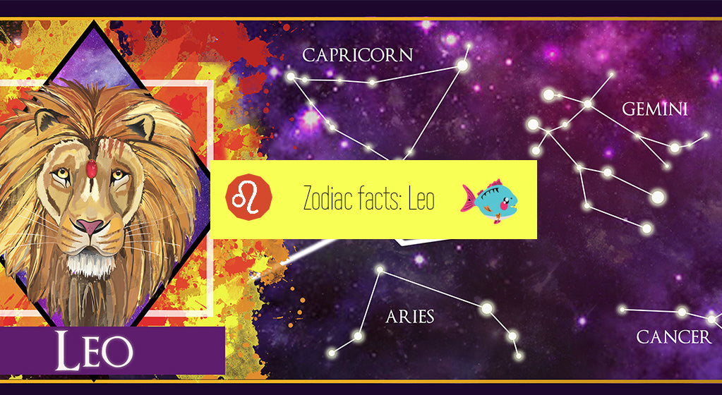 Leo the Lion [23 July - 22 August] | star sign, horoscope, astrological and zodiac facts