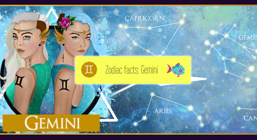 Gemini the Twins [21 May - 20 June] | star sign, horoscope, astrological and zodiac facts