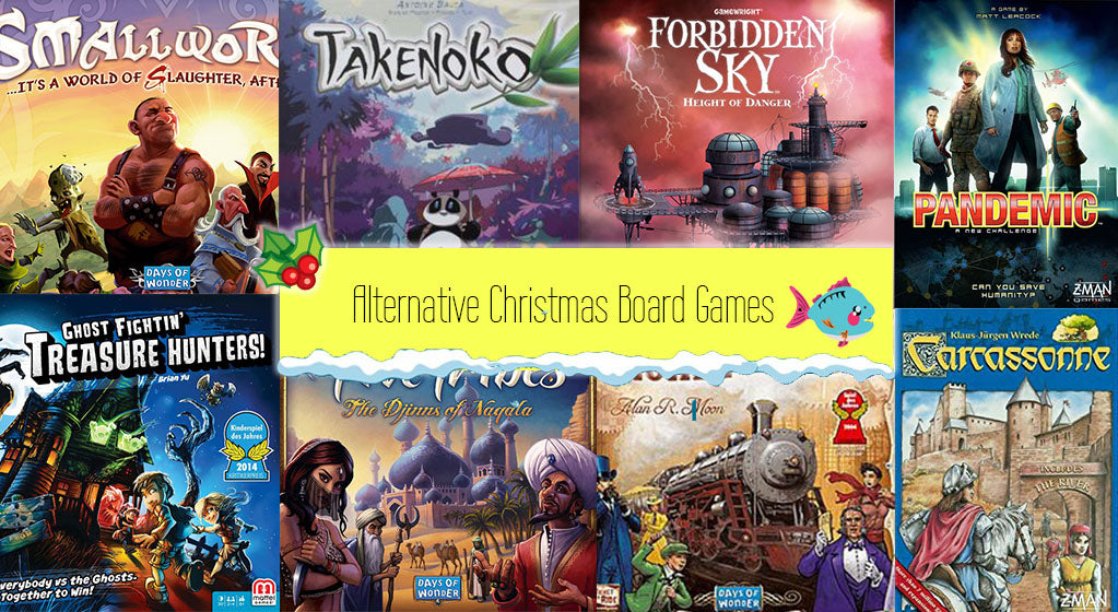 9 Alternative Christmas board games that won't fit in your stocking