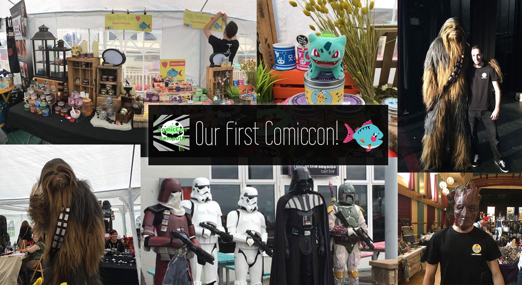 Our First ComicCon: ComicCon Exmouth | Happy Piranha