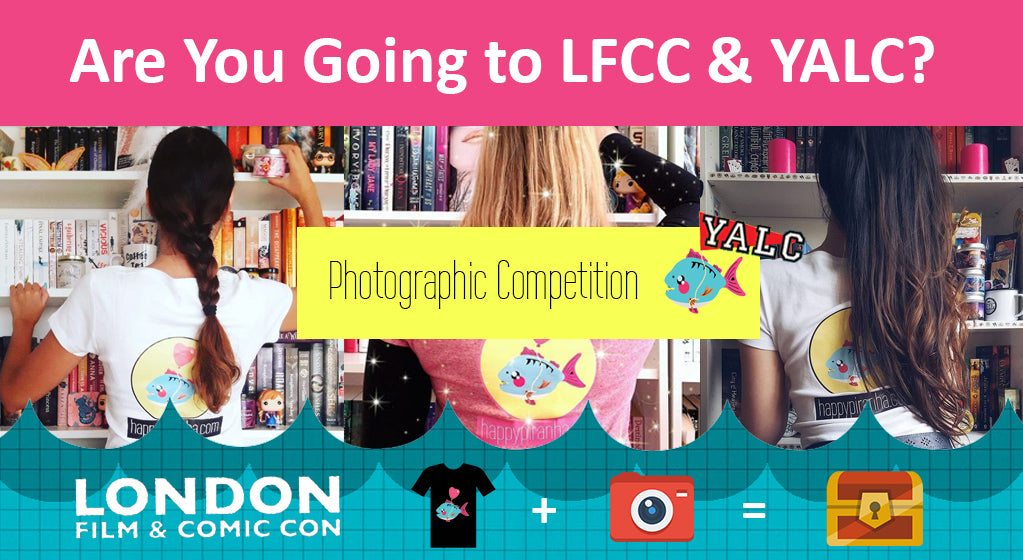 Our London Film and Comic Con & YALC Photographic Competition 2018 [Free T-shirt!]