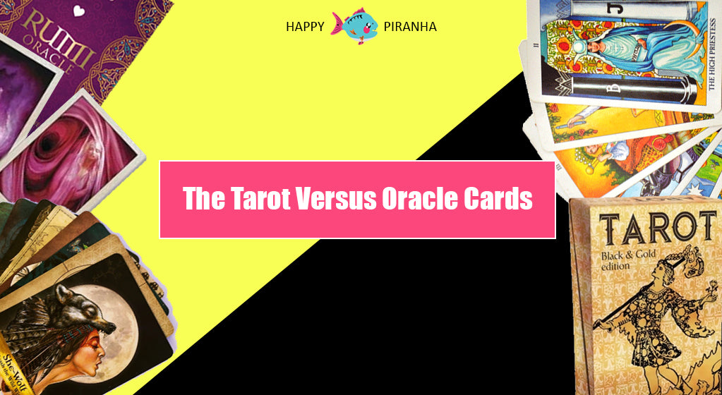 Tarot and Oracle Cards: What's the Difference?