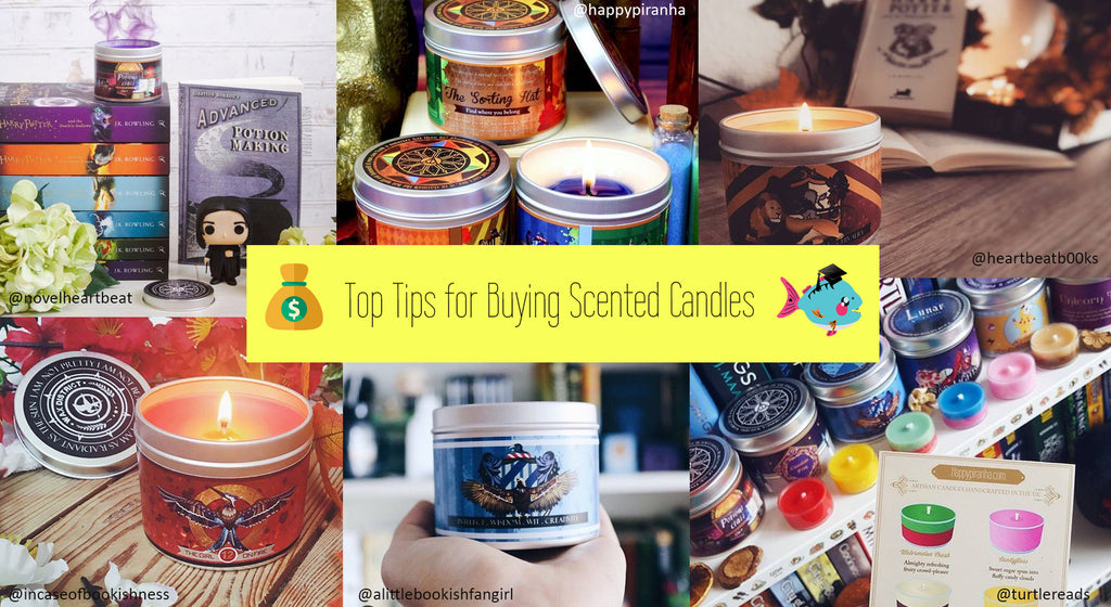 Top Tips for Buying the Best Scented Candles - a Short Guide