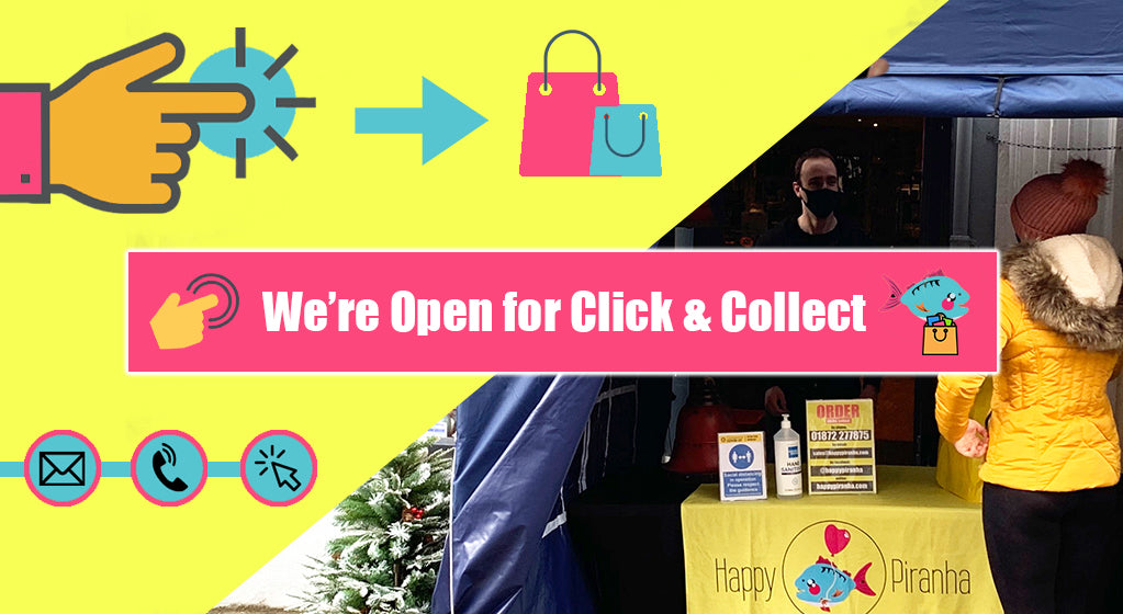 We're Open for Click and Collect!