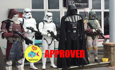 Star Wars cosplay at Comiccon Exmouth - Happy Piranha Approved!