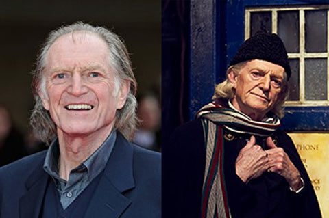 David Bradley as the doctor in Doctor Who.
