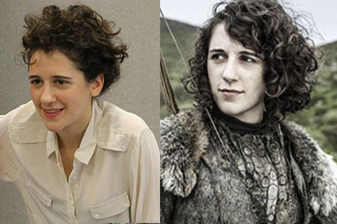 Ellie Kendrick aka Meera Reed from Game of Thrones.