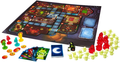 Ghost Fightin' Treasure Hunters the board game