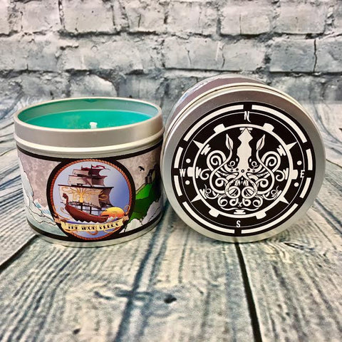 The Iron Fleet, a Game of Thrones inspired scented candle by Happy Piranha