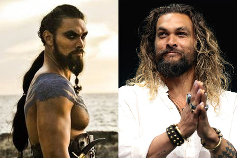 Jason Momoa aka Khal Drogo from Game of Thrones