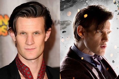Matt Smith played the eleventh incarnation of Doctor Who.