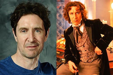 Paul McGann as the eighth doctor in Doctor Who.