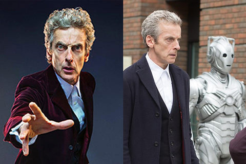Peter Capaldi, the twelfth doctor in Doctor Who.