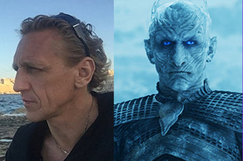 Vladimir Furdik aka The Night King form Game of Thrones.