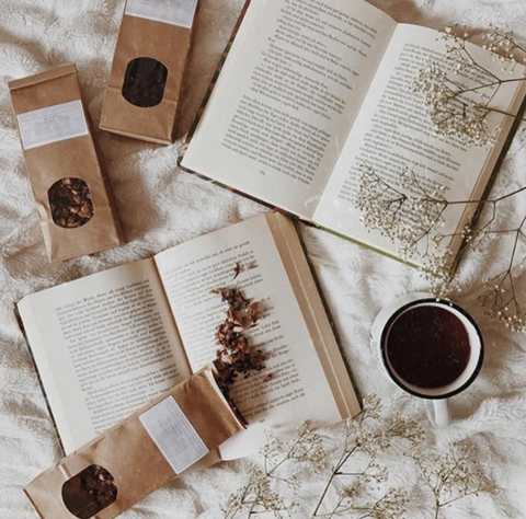 Bookish Teas - handmade blends to compliment your book!