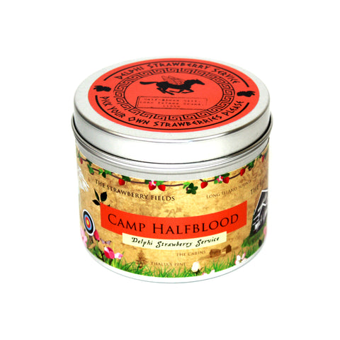 Camp Halfblood - Percy Jackson Inspired scented candle by Happy Piranha