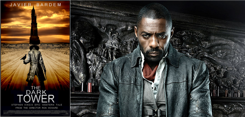 The Dark Tower, Stepehen King and Idris Alba - Happy Piranha Blog - films we want to watch 2017