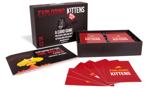 Exploding kittens NSFW edition | Happy Piranha