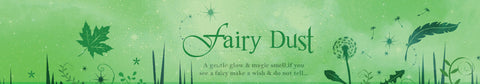 Fairy Dust tinkerbell inspired scented candle label design | Happy Piranha.