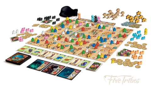 Five Tribes the Board Game