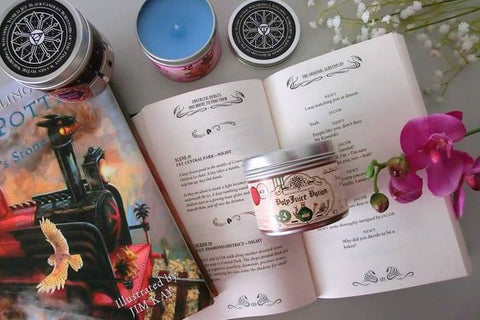 Harry Potter Candle 3 set by @abookodyssey