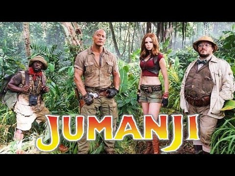 Jumanji 2017 - Happy Piranha Blog - films we want to watch 2017