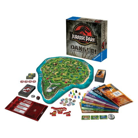 Jurassic Park Danger the board game