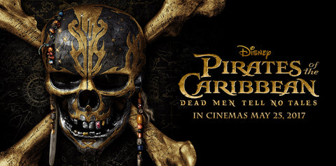 Pirates of the Caribbean Dead Men Tell No Tales - Happy Piranha Blog