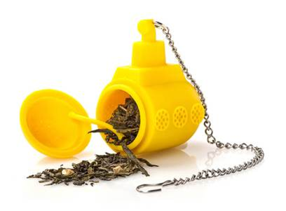 Tea submarine tea diffuser | Happy Piranha