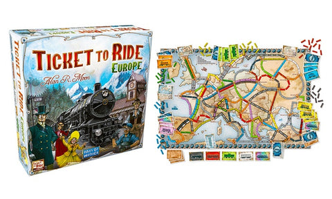 Ticket to Ride the board game