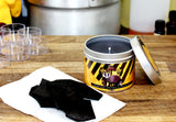 House Hufflepuff Harry Potter inspired scented candle - Happy Piranha