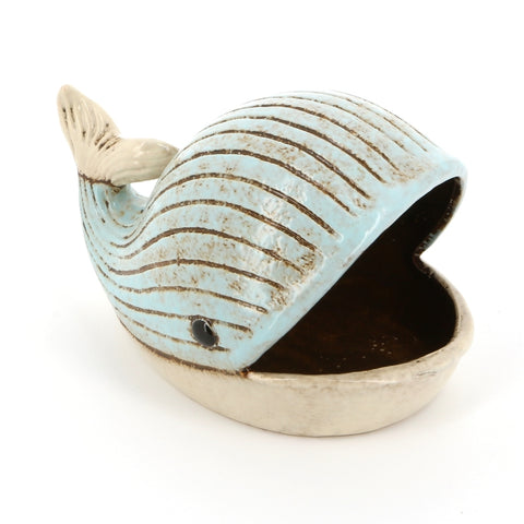 Blue Whale Ceramic Dish | Happy Piranha