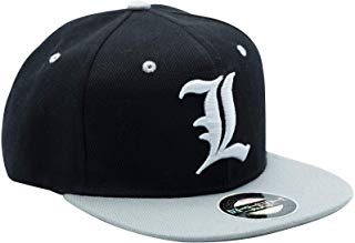 Death Note L Snapback Baseball Cap | Happy Piranha