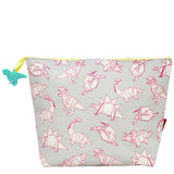 Origami Dinosaur Wash Bag | Happy Piranha