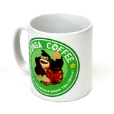 Konga coffee donkey kong inspired mug by Happy Piranha