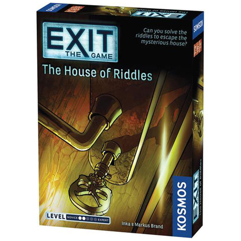 EXIT: The House of Riddles - Escape Room Board Game | Happy Piranha
