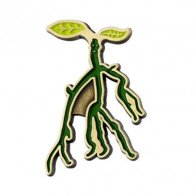Fantastic Beasts Enamelled Bowtruckle Pin Badge | Happy Piranha