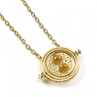 Harry Potter 30mm Spinning Time Turner Necklace | Happy Piranha