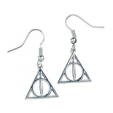 Harry Potter Deathly Hallows Earrings | Happy Piranha