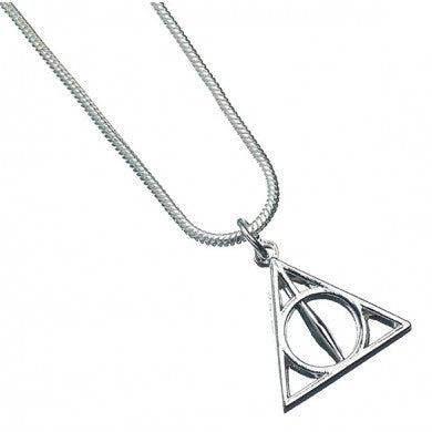 Harry Potter Deathly Hallows Necklace | Happy Piranha